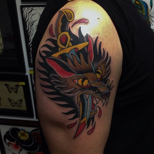 ANDREW C. THAXTER Tattoos at CONTRA TATTOO